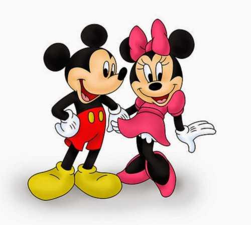 Микки и Мини Маус